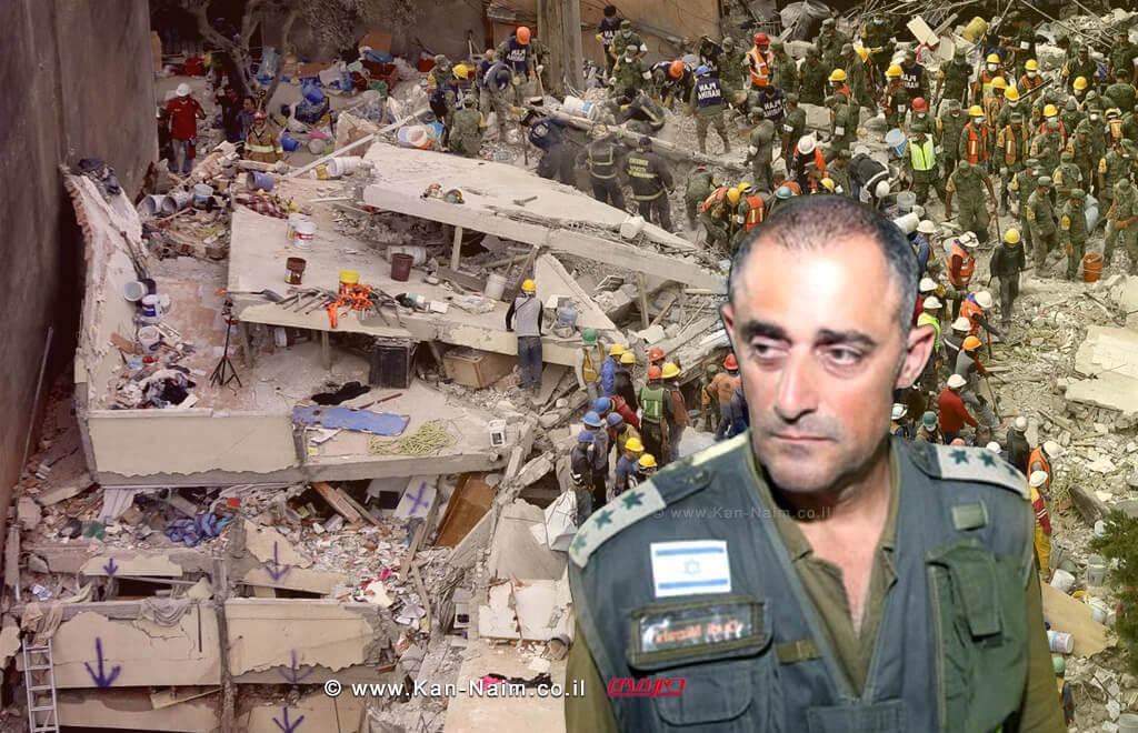 אלוף-משנה (מיל') דודי מזרחי בראש משלחת הסיוע והחילוץ של צהל אל מקסיקו-סיטי לאחר רעידת האדמה   עיבוד צילום: שולי סונגו ©