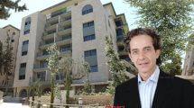 משנה למנכל חברת דרה | Dara קובי בן שמחון ברקע הדמיית דירות יוקרה בבוטיק נביאים בירושלים| הדמיה: סטודיו אנדו | עיבוד צילום: שולי סונגו ©