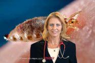דר' מיכל שטיין, מנהלת היחידה למחלות זיהומיות במרכז הרפואי הלל יפה על קדחת הבהרות והסימנים למחלה | עיבוד צילום: שולי סונגו ©