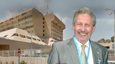 דר' זאב גולדיק מעתה מנהל מערך ההרדמה טיפול נמרץ' ו'רפואת הכאב' בבית החולים כרמל  צילום: אלי דדון   עיבוד צילום: שולי סונגו ©