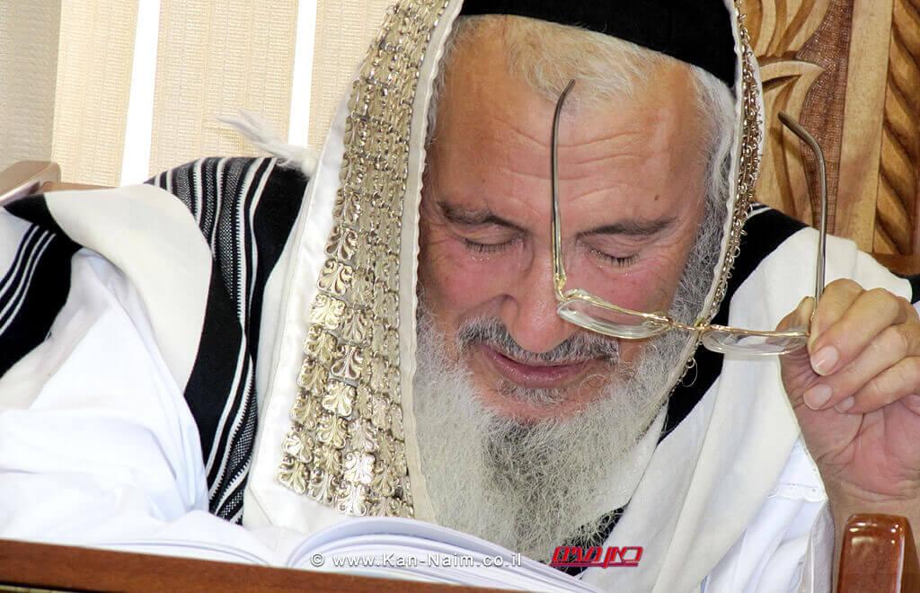 """מורנו ורבנו הגאון רבי שמעון ביטון שיחיה לאורך ימים טובים אמן, רבה של חדרה וראש ישיבת """"אור יוסף"""""""