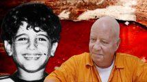 הרוצח צבי גור שהורשע ברצח הילד אורון ירדן זכרו לברכה בשנת 1980   עיבוד צילום: שולי סונגו ©