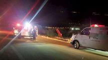 רוכב אופנוע בן 70 נהרג מפגיעת רכב בכביש בין קיבוץ שניר לקיבוץ דפנה| צילום: תיעוד מבצעי מדא | עיבוד צילום: שולי סונגו ©