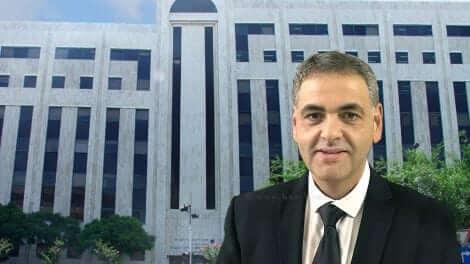 עורך הדין מוטי לוין, מייצג אתארגון שחקני הכדורגל בליגות העל והלאומית | עיבוד צילום: שולי סונגו ©