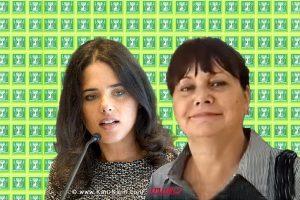 עורכת דין רות דוד לשעבר פרקליטת מחוז תל אביב שרת המשפטים אילת שקד | עיבוד צילום: שולי סונגו ©