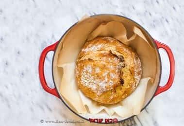 לחם ב-סיר ביתי | עיבוד צילום: שולי סונגו ©