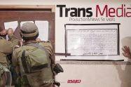 כוחות צהל פשטו על כלי תקשורת פלסטיניים החשודים בהסתה לטרור | צילום: דוץ