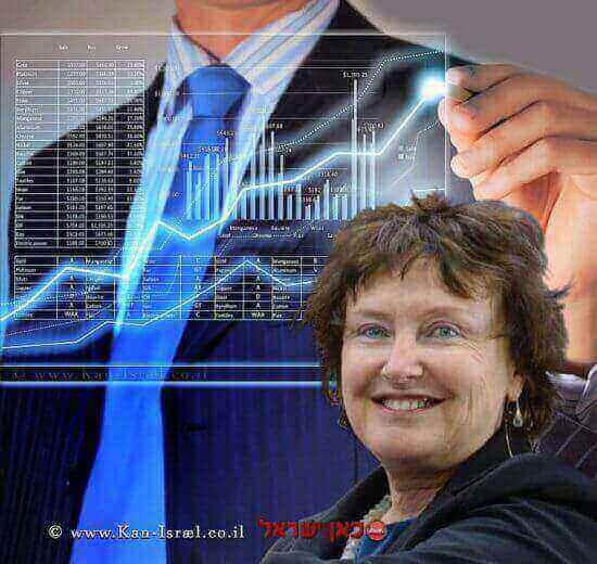 נגידת בנק ישראל דר' קרנית פלוג| עיבוד צילום: שולי סונגו ©