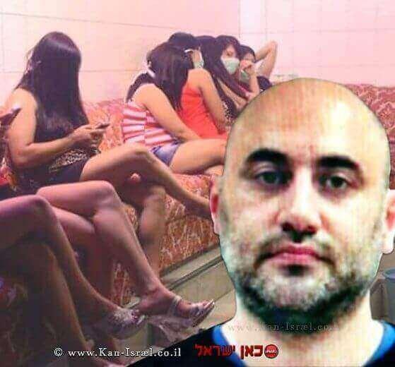 דימיטרי איסקוב מואשם באונס, סרסרות למעשי זנות   רקע סחר בנשים לזנות  עיבוד צילום: שולי סונגו ©