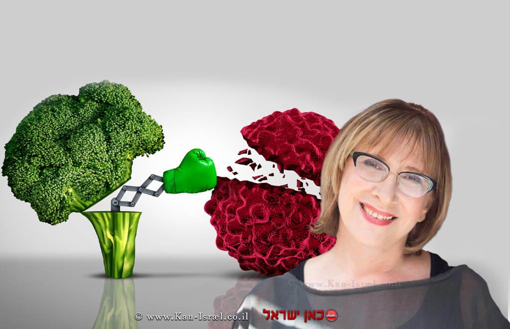דר' אולגה רז | רקע: מזון בריאותירוקנלחם נגד סרטן | עיבוד: שולי סונגו ©