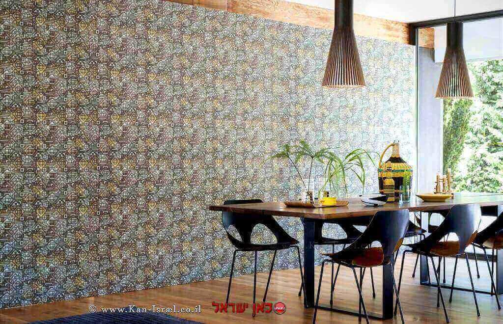 חברת Elite Homewear - עילית הלבשה לבית העוסקת בתחום העיצוב והלבשת הבית מציגה קולקציית הבדים Casablanca   עיבוד צילום: שולי סונגו ©