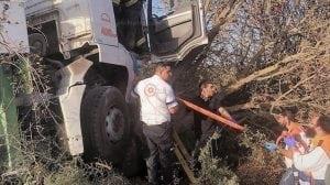 צוותי מגן דוד אדום בזירת תאונת דרכים בראשית השבוע | צילום: תיעוד מבצעי מדא