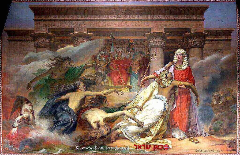 מצרים ניצלת בידי יוסף, 1827 | צילום: ויקיפדיה