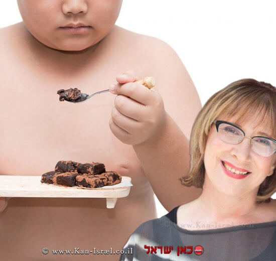 דוקטור אולגה רז על מגיפת ההשמנה בילדי ישראל   עיבוד צילום: שולי סונגו ©