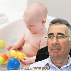 הממונה על התקינה, יעקב וכטל סכנה לבריאות הילדים בצעצועי אמבטיה
