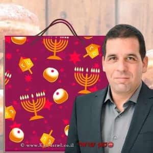 ג'וש גולדשמיד, מנכל המועצה לצרכנות שמצאה פערים משמעותיים במחירי מוצרים לחג החנוכה | עיבוד: שולי סונגו©