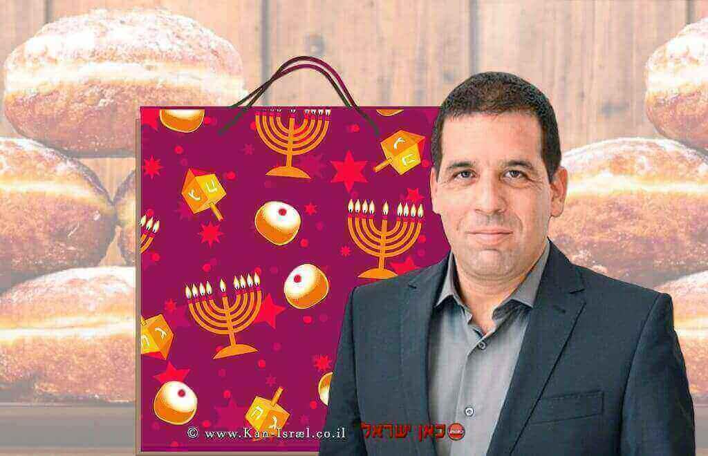 ג'וש גולדשמיד, מנכל המועצה לצרכנות שמצאה פערים משמעותיים במחירי מוצרים לחג החנוכה   עיבוד: שולי סונגו©