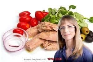 רותי אבירי, דיאטנית קלינית ויועצת תזונה של טונה סטארקיסט  עיבוד: שולי סונגו ©