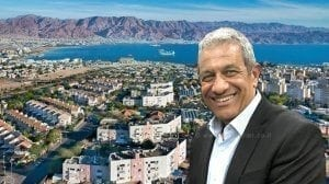 ראש עיריית אילת, מר מאיר יצחק הלוי |עיבוד צילום: שולי סונגו ©