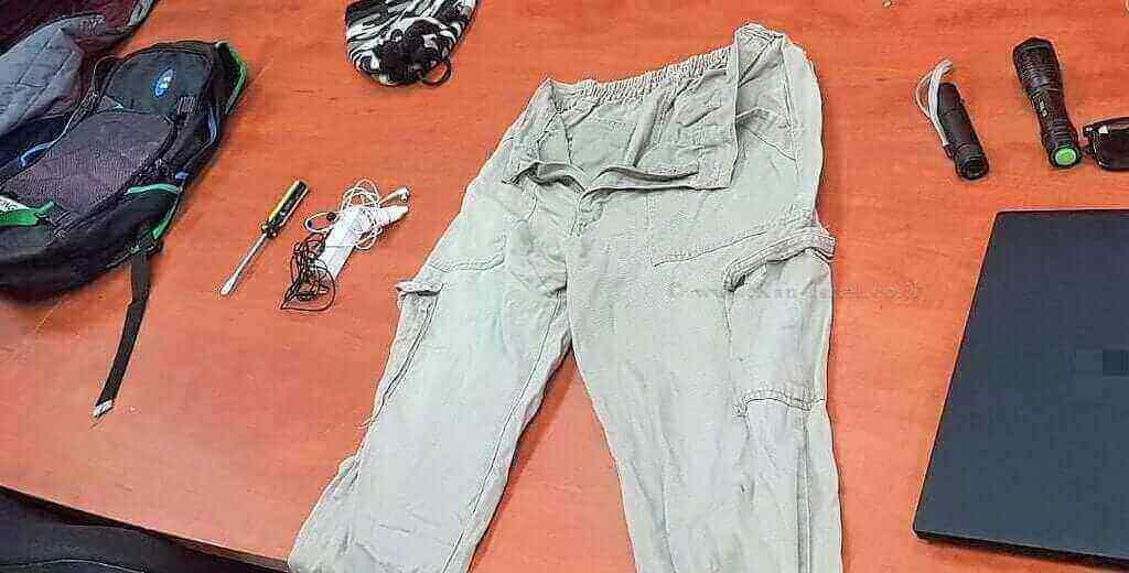 רכוש שנתפס מהגנב מטובא-זנגרייה, בראש פינה | צילום: דוברות המשטרה