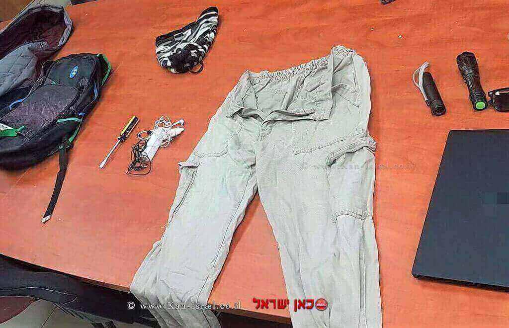 רכוש שנתפס מהגנב מטובא-זנגרייה, בראש פינה   צילום: דוברות המשטרה