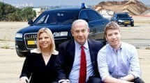 יאיר בנו של ראש הממשלה בנימין נתניהו ורעייתו שרה רקע: רכב שרד |צילום:קוביגדעון, לעמ