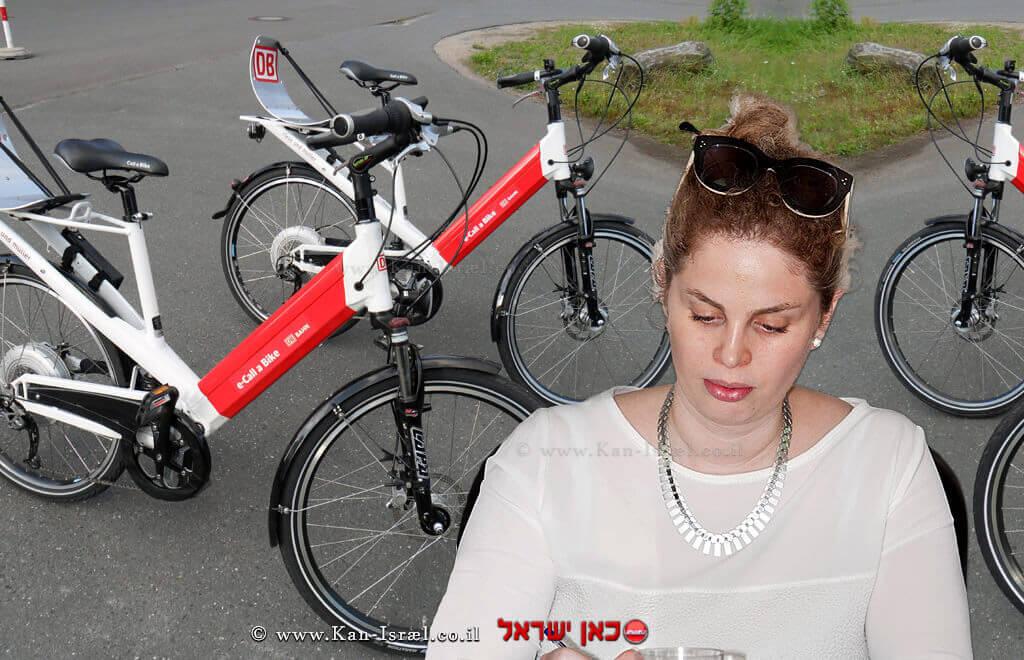 הרמן וייס, מנהלת תחום האופניים באיגוד לשכות המסחר | צילום: צביקה גולדשטיין