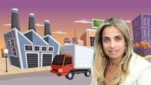 איילת כהן סמנכל תעשייה ומסחר של עיריית חולון