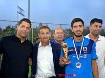הענקת מצטיין טורניר אליפות ישראל ב-F5WC | צילום: רונן מני