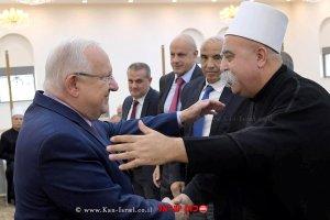 נשיא המדינה מר ריבלין נפגש עם השייח' טריף