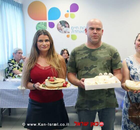 גלעד פוגל, תושב נתניה זוכה תחרות עוגת הגבינה