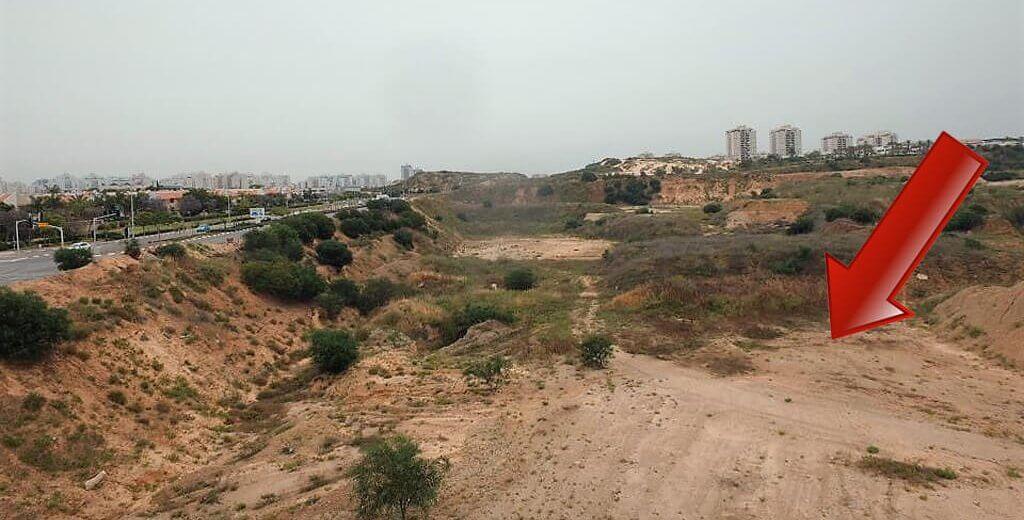כריית חול בלתי חוקית בהיקף נרחב באזור ראשלצ