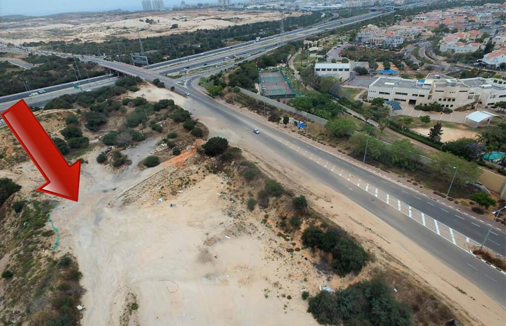 כריית חול נרחב ובלתי חוקית באזור ראשלצ