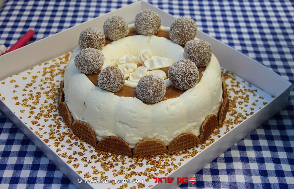 עוגת הגבינה שזכתה במקום הראשון
