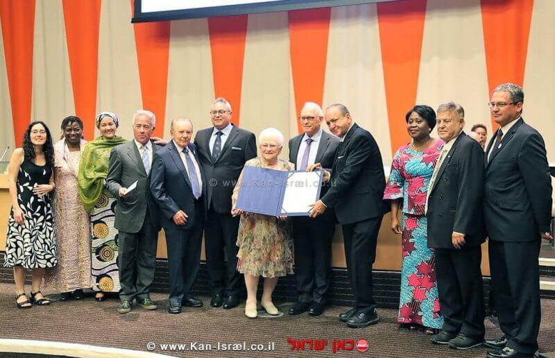פרס האום לאוכלוסין הוענק לעמותת 'הצל לבו של ילד'