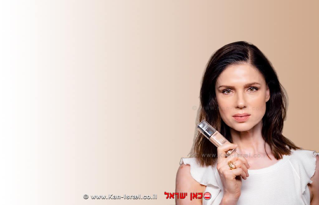 הדוגמניתרונית יודקביץ' עםלוריאל פריז(L'Oréal Paris)  צילום: רן יחזקאל