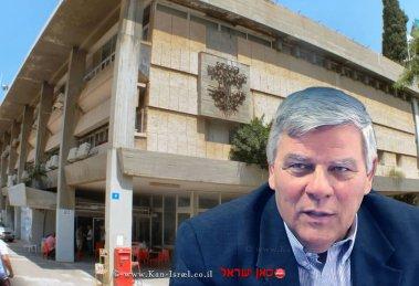 ראש עיריית חדרה מר צביקה (צבי) גנדלמן