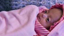 התינוקת שרי מהודו, הקטנה ביותר במשקל 375 גרם