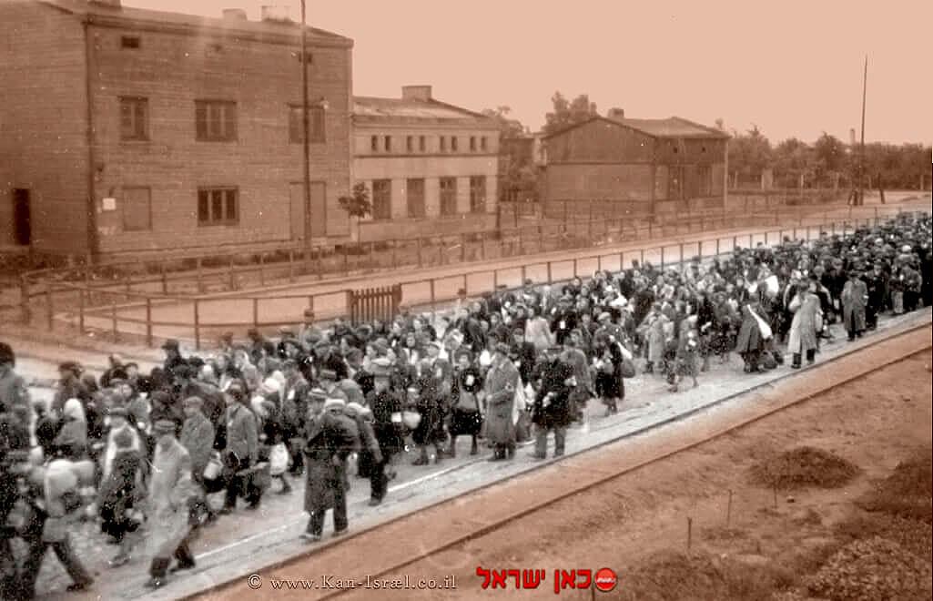 לודז', פולין – גירוש מהגטו בקיץ 1944