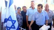 ראש העיר יעקב אדרי בחנוכת מרכז טוטו פיס לקהילה ולספורט