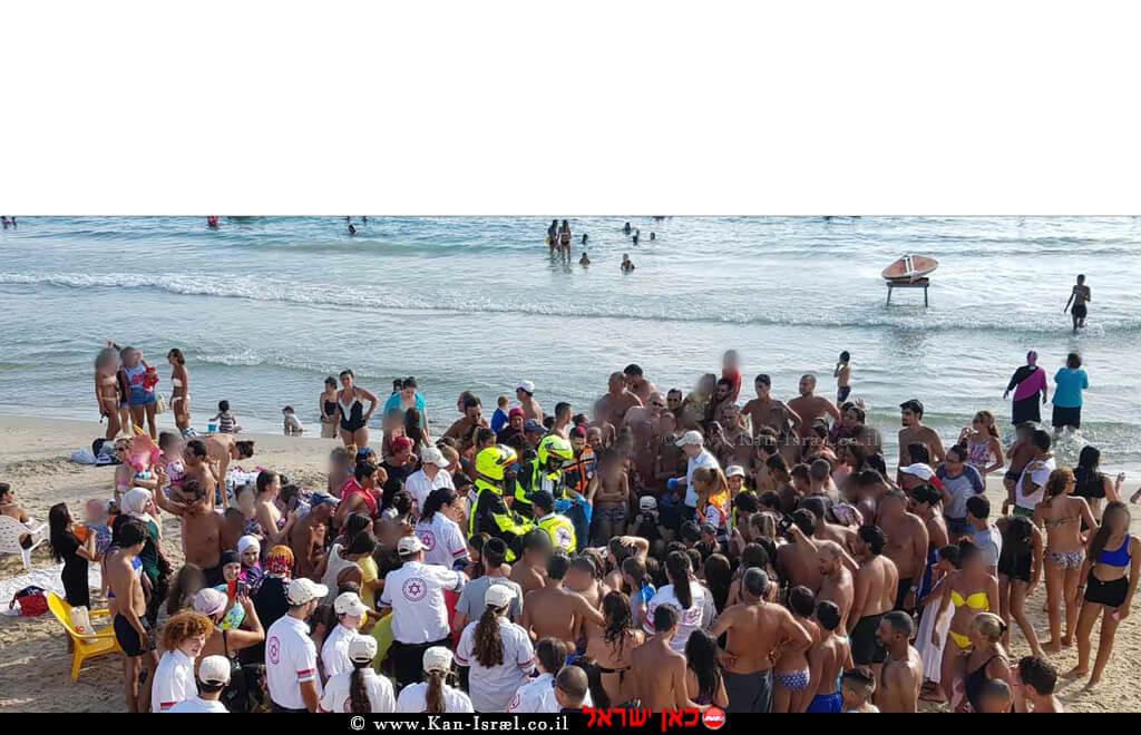מדא מדריך החייאה לרוחצי חוף סירונית נתניה