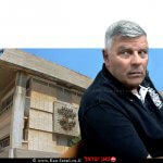 צבי גנדלמן ראש העיר חדרה היוצא בעת מעצרו