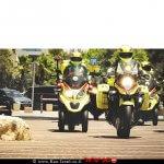 רוכבי יחידת האופנועים מדא