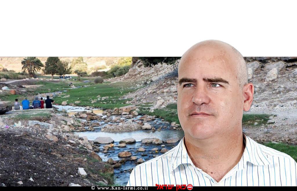 עדיאל שמרון | רקע: פארק נחל ציפורי