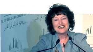 נגידת בנק ישראל דר' קרנית פלוג, נואמת בכנס בינלאומי לרגל סיום תפקידה