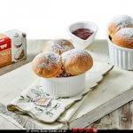 מיני סופגניות אפויות של נטורינה- תחליפי חמאה ומרגרינה של חברת שמרית| צילום: אמיר מנחם