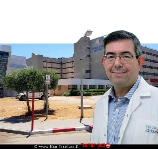 פרופ' אריאל רוגין, מנהל מערך הלב במרכז הרפואי הלל יפה-חדרה | צילום: דפנה נבו | עיבוד צילום: שולי סונגו©