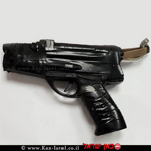 נשק בייצור עצמי שנתפס