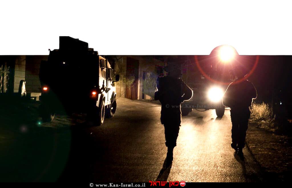 כוחות הביטחון באיתור מבוקשים במעשי טרור