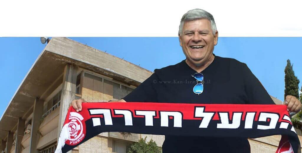 צבי גנדלמן ראש העיר חדרה